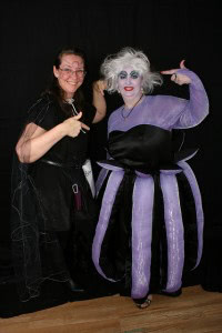 Ursula and her designer photo by Jared Young